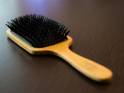 A hair brush