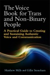 Front cover of The Voice Book for Trans and Non-Binary People